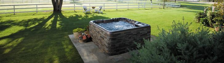 spa backyard ideas in Kalispell, Montana