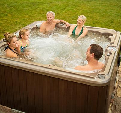 relax in a spa in Kalispell
