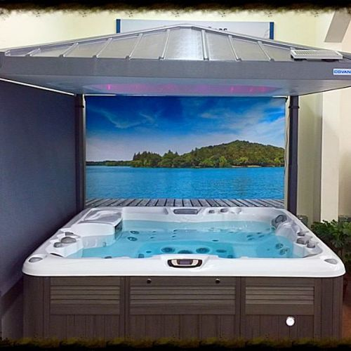 big johns hot tub showroom