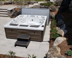 The Kingston hot tub from Sundance Spas