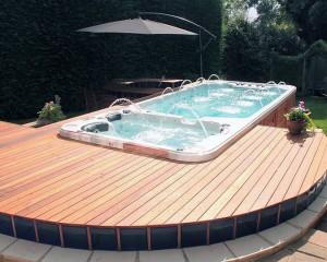 Swim Spa installation